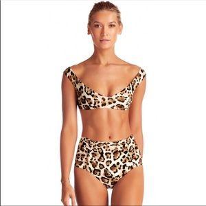 Vitamin A cheetah bikini size S